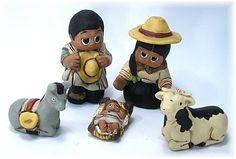 Peruvian Nativity... How cute! Haha!