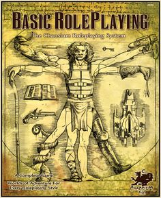 Basic Roleplaying is the core percentile-based game engine for Runequest, Call of Cthulhu, and several other games.