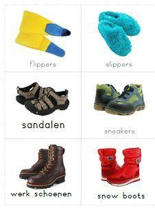 woordkaartjes schoenen 4