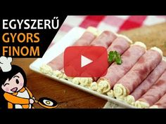 Ham roll recipe with video. Detailed steps on how to prepare this quick, easy and simple Ham roll recipe! Ready in: just 1 hour Rolls Recipe, Food Videos, Ham, Tasty, Make It Yourself, Recipe Ready, Simple, Blog, Super