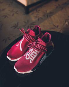 "Pharrell Williams x adidas Human Race NMD ""Shock Pink"""