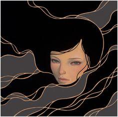supersonic electronic / art - Audrey Kawasaki. More paintings by Audrey Kawasaki...