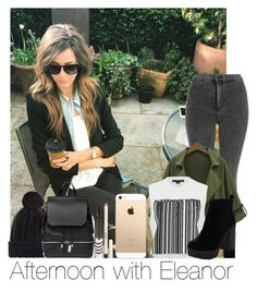 """""""Afternoon With Eleanor"""" by hazzgirl03 ❤ liked on Polyvore featuring beauty, Topshop, COSTUME NATIONAL, Chicnova Fashion and Alexander Wang"""