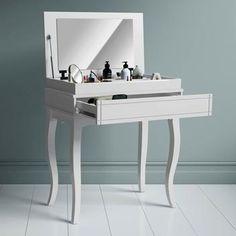 Penteadeira de Maquiagem Libriane - BRANCA - Valios - Magazine Mandinha Tecno, Vanity, Mirror, Bedroom, Furniture, Home Decor, Amanda, Vanity Table Vintage, Makeup Dresser