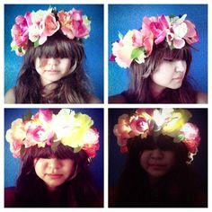 LED Light up Flower Crown for Festivals EDC EDM Raves by LaLaNala, $29.99