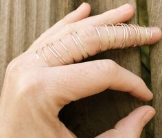 Sterling Silver Spiral Ring. That's different!