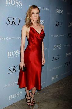 Diane Kruger - SKY premiere (Cushnie et Ochs)