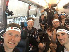 The team selfie Paris Roubaix  2017
