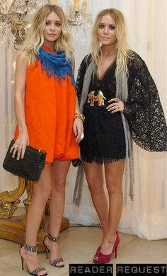 One of my favorite shots of Mary-Kate and Ashley Olsen! #style #fashion #olsentwins