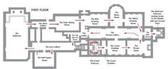 Floor plan of the State Rooms, Buckingham Palace                                                                                                                                                                                 More