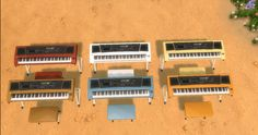 Mod The Sims - TS4 Keyboard Piano