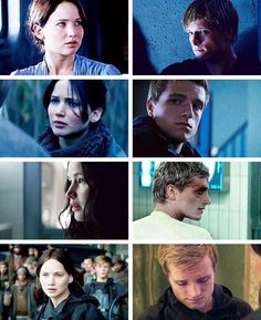 From The Hunger Games to Mockingly Part 2: Katniss and Peeta. i can't do this the feels  are so strong