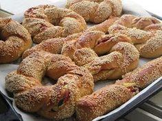 Greek Sweets, Greek Desserts, Greek Recipes, Desert Recipes, Breakfast Time, Breakfast Recipes, Cookbook Recipes, Cooking Recipes, Bread And Pastries
