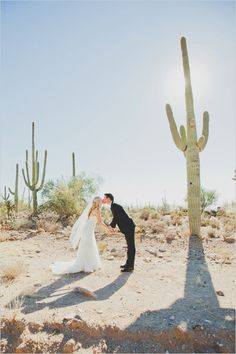 A Desert Wedding At The Ritz-Carlton, Dove Mountain designed by Outstanding Occasions and photos by Elyse Hall Photography Check out this entry! She's got some great pointers on what she wishes she'd done differently. Also how cool that they got married in a desert!?