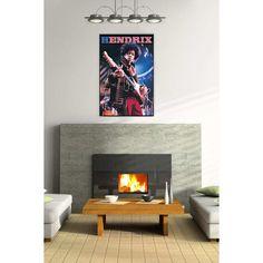 HENDRIX 60x90 cm #artprints #interior #design #art #print #iloveart #music  Scopri Descrizione e Prezzo http://www.artopweb.com/EC18566
