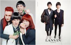 Lanvin Men Serve Up Fashionable Weird for Spring/Summer 2015 Campaign