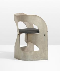 Gerald Summers; Plywood and Brass Chair for Makers of Simple Furniture, c1934.