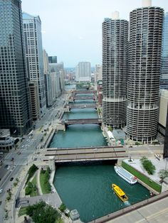 The view from Chicago's Hotel 71- better known as Batman's pad. via HotelChatter