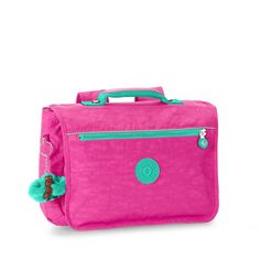 Kipling New School Backpack in Breezy Pink