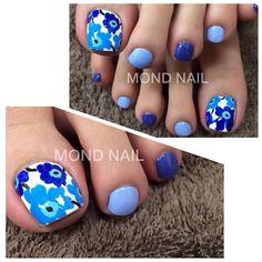 I love blue And I love flower too.  I wanna try.