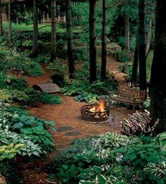 Fresh and beautiful backyard landscaping ideas 11