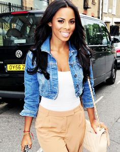 Rochelle from The Saturdays