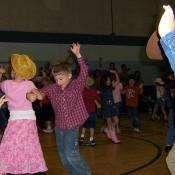 Kids love square dancing
