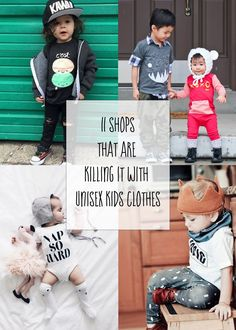 11 Shops That Are Killing It with Unisex Clothes for Babies