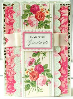 © Anna Griffin, Inc. Bouquet Border Stickers