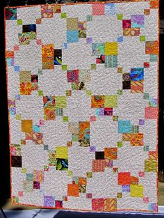 double disappearing 9-patch quilt with a traditional look by Marty Mason