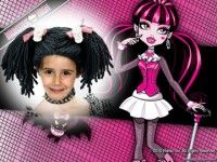 Marco para fotos de Monster High.
