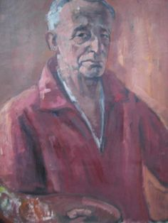 I 071 Zelfportret Theo H. (1901-1985)