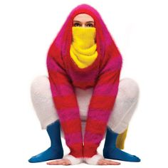 Because all knitters want to make sweaters that make them look like radioactive frogs