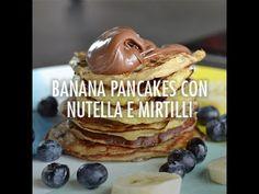 Pancakes alla banana e nutella   Chef in Camicia