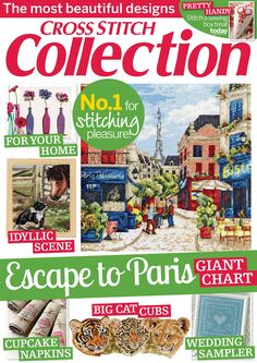Cross Stitch Collection Issue 236 2014 patterns pinned Zinio