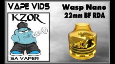 KZOR's First Look : Coppervape Squonk Mod & Wasp Nano BF RDA