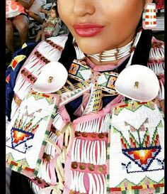 Powwow Beadwork, Powwow Regalia, Indian Beadwork, Native Beadwork, Native American Regalia, Native American Beadwork, Native American Fashion, Jingle Dress, Native Girls