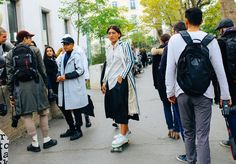 Phil Oh's Fashion Week Street Style: Spring 2016 Ready-to-Wear