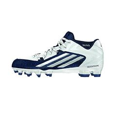 quality design b1553 a5126 Adidas Crazyquick 2.0 Mens Calcio tacchetti 9.5 White-Navy Football Shoes,  Cleats, What