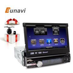 "7"" Universal 1 Din Car Audio DVD Player+Radio+GPS Navigation+Autoradio+Stereo+Bluetooth+PC+DVD Automotivo+SD USB RDS Aux //Price: $257.99 & FREE Shipping //     #hashtag1"