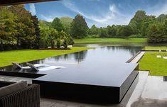 Hot Tub Backyard, Small Backyard Pools, Small Pools, Swimming Pools Backyard, Swimming Pool Designs, Pool Landscaping, Outdoor Pool, Lap Pools, Indoor Pools