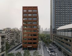 Moganshan Road office building in Hangzhou by David Chipperfield Architects