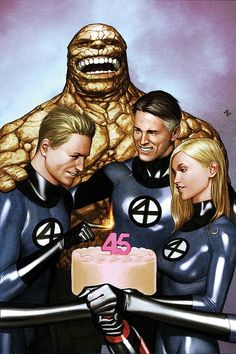Fantastic Four Now with colors by Adi Granov *