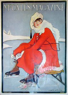McCall's Magazine cover, January, 1916.