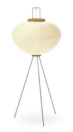 Simple and sleek fireplace - Mobili Möbel Classic Lighting, Unique Lighting, Lighting Design, Noguchi Lamp, Isamu Noguchi, Vitra Design Museum, Mid Century Lighting, Vintage Lamps, Mid Century Furniture