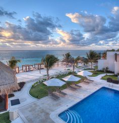 Azul Beach Hotel is a family-friendly, boutique-style property located on a gorgeous beach. Karisma, Gourmet Inclusive, Riviera Maya, Family Vacation, Honeymoon, Wedding, Travel, Mexico