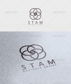 Stam Logo - Download : https://graphicriver.net/item/stam-logo/1952928?ref=pxcr