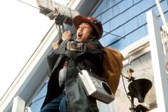 Richard 'Data' Wang in 'The Goonies' (1985)  A topic very close to out hearts! Data is a hugely inventive Goonie who lived next door to the Walsh family. Like us, he's a huge fan of James Bond and carries all of his special gadgets and tools in his trusty trenchcoat. While his gadgets have setbacks every now and then, they do come in handy and saved the gang from near death experiences. He is definitely the geek you want around on your childhood adventures.