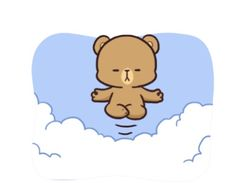 Cute Cartoon Pictures, Cute Couple Cartoon, Drawing Wallpaper, Bear Wallpaper, Bear Gif, Love Quotes Wallpaper, Cute Love Gif, Bunny And Bear, Japanese Illustration