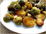 Maple-Roasted Brussels Sprouts With Toasted Hazelnuts #vegan